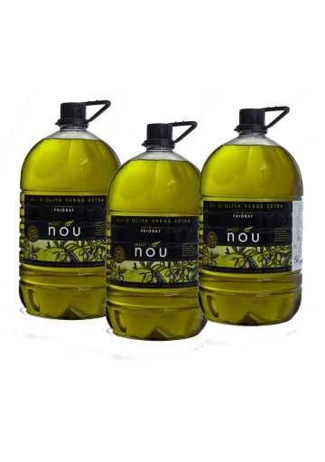 Pack Molí Nou - Oli d'oliva Verge Extra 5L X 3 unitats