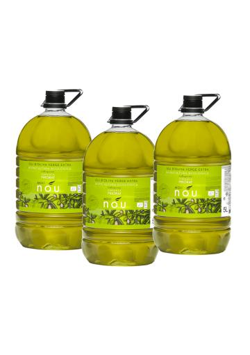 Pack Molí Nou Ecològic - Oli d'oliva Verge Extra 5L X 3 nitats